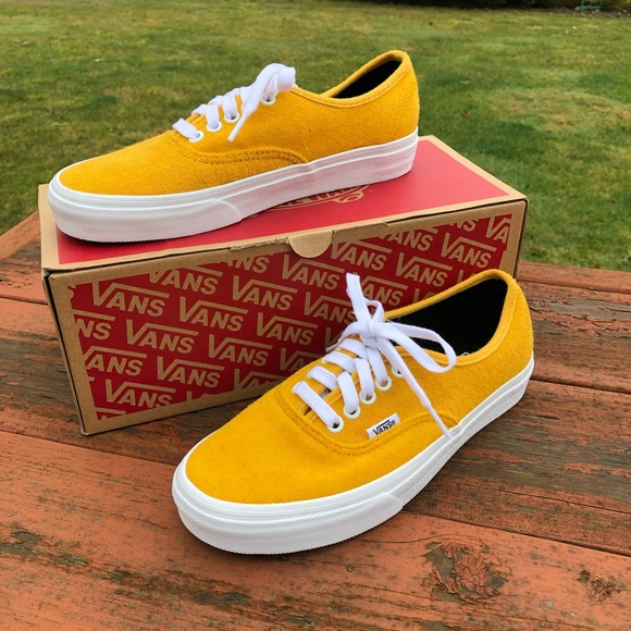 a22bf481274 Vans authentic terry sunflower